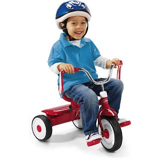 Folding Tricycle for Decreasing Toe Walking
