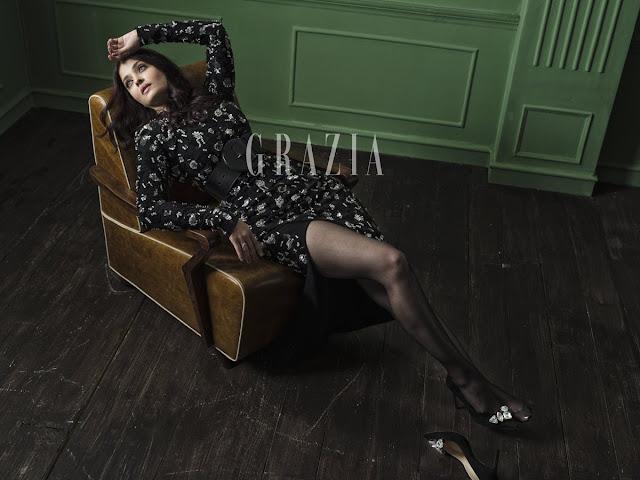 Aishwarya Rai poses for Grazia India magazine Photoshoot