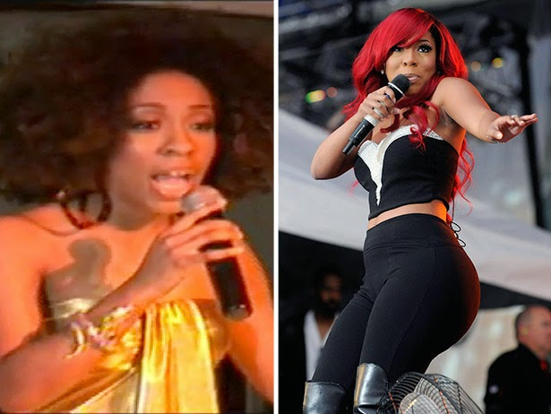 K Michelle Before And After Chatter Busy: K...