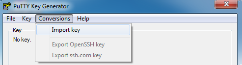 Develop For Fun: Configure TortoiseGIT with RSA Private Key on Windows