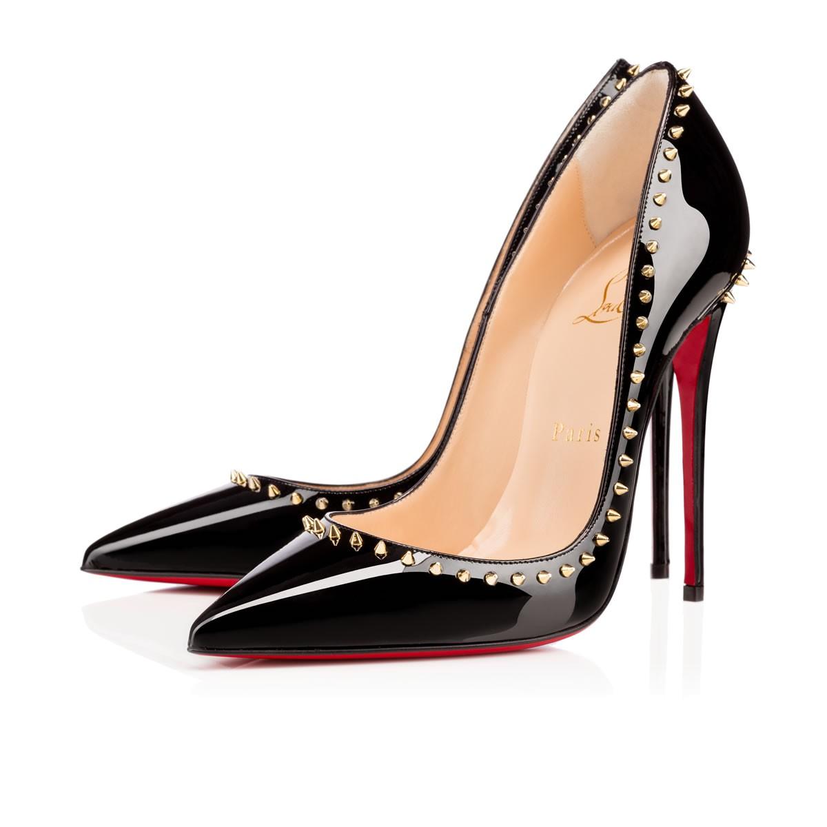 76c94b958a2f CHRISTIAN LOUBOUTIN ANJALINA 120MM BLACK PATENT - Reed Fashion Blog