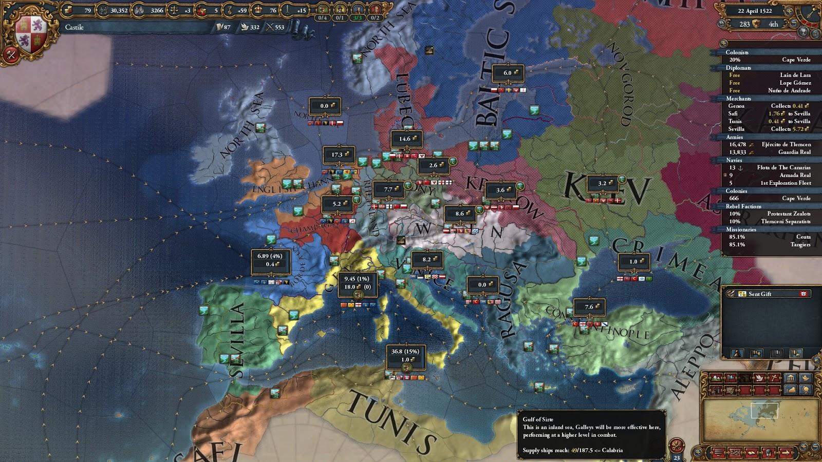 Political Map | Europa Universalis 4 Screenshots | The Best Games Ever