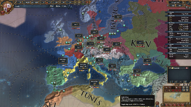 Political Map | Europa Universalis 4 Screenshots