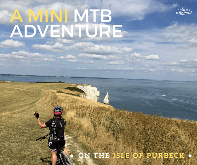 FitBits_Mountain biking on the Isle of Purbeck - Tess Agnew fitness blogger