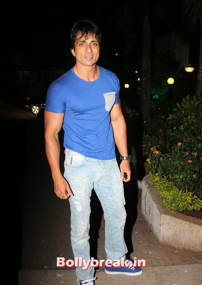 Sonu Sood, Kainaat, Huma & Manjari at Sanjay Gupta Party for Milap Zaveri