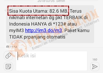 Perhatian !!! Sisa Kuota 100 MB Sebaiknya Registrasi Ulang Paket Yellow 1GB Indosat Ooredoo Kamu