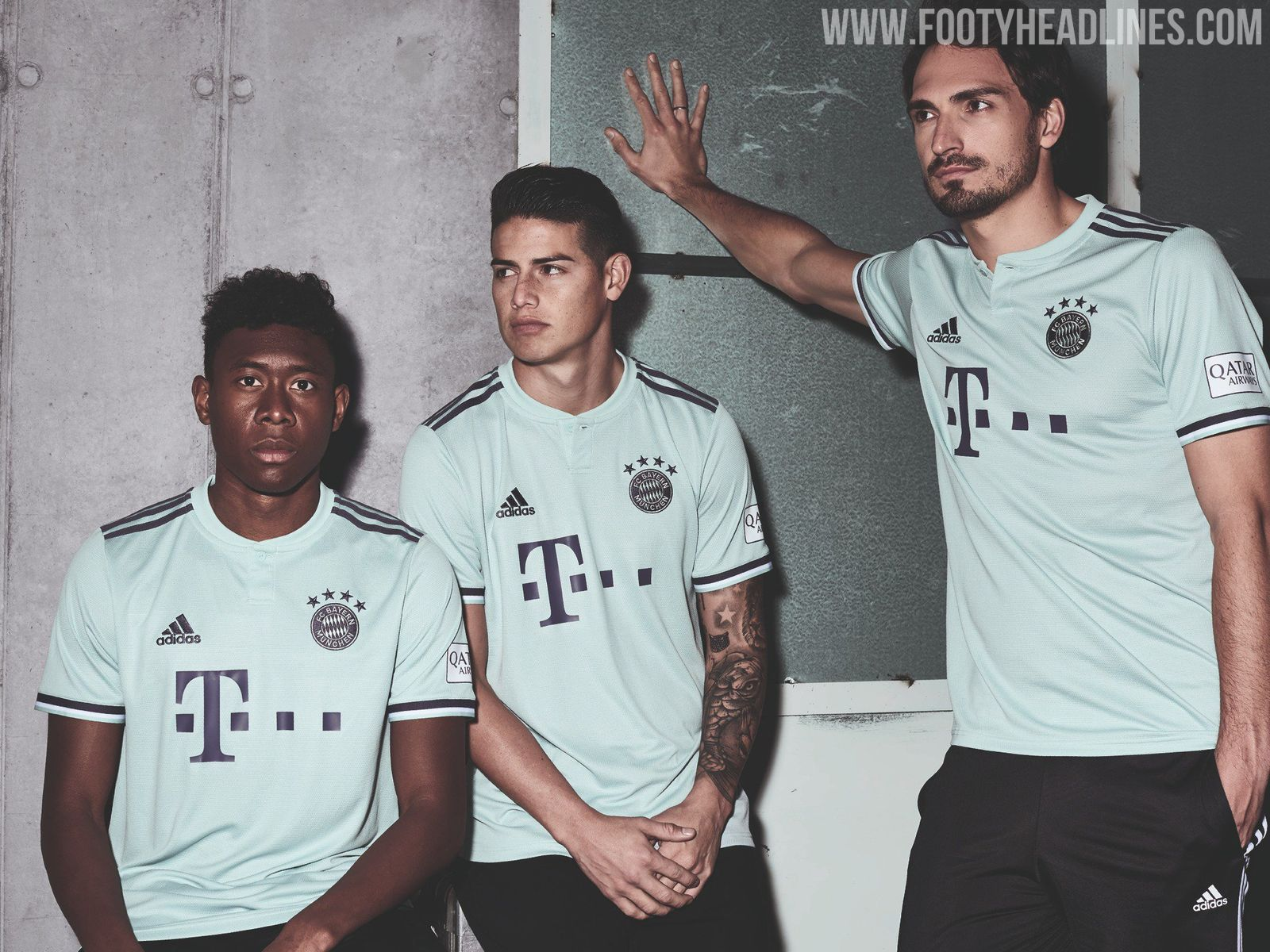 872921f2966 The new Bayern Munich 2018-2019 away jersey introduces a totally new look  for the club