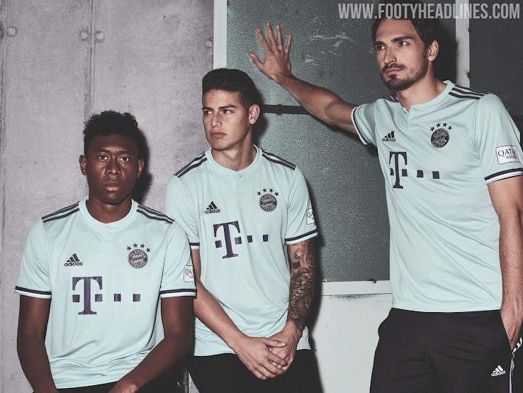 competitive price 649ec 6dae2 Bayern Munich 18-19 Away Kit Released - Footy Headlines