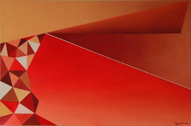 Arte geométrica - triangulações - Elma Carneiro
