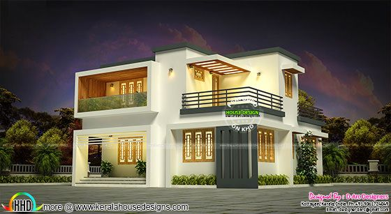 19 lakhs estimated Kerala house plan