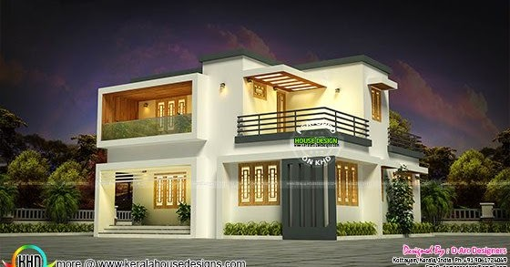 12 Lakh Home Design And Plan: 19 Lakhs Estimated Kerala House Plan