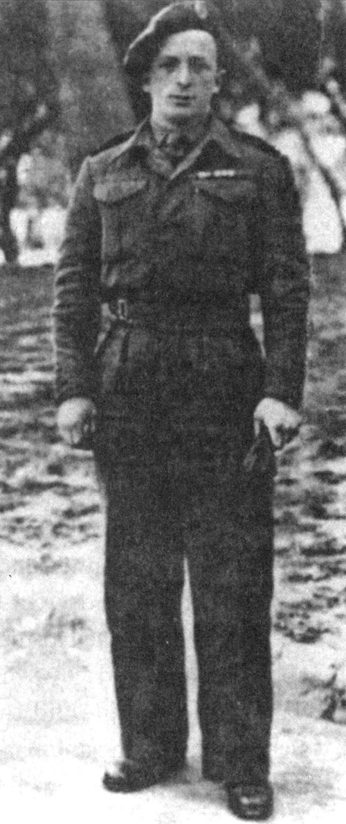 Shalom in British uniform