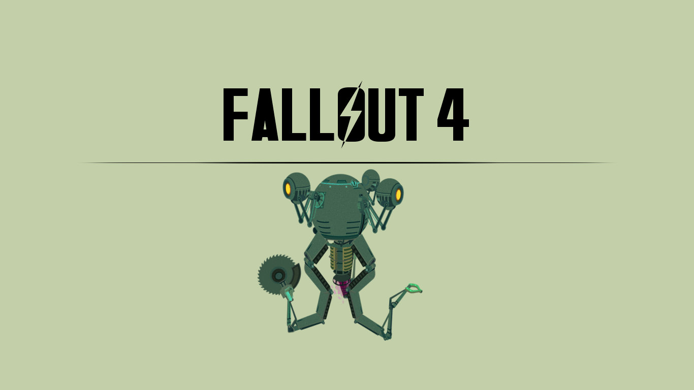 Fallout 4 character wallpaper