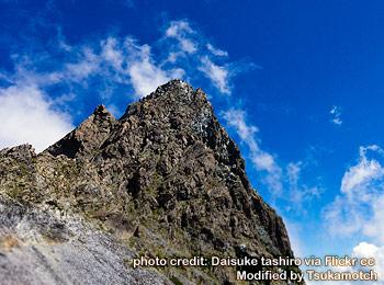 槍ヶ岳/Mt. Yarigatake photo credit by Daisuke tashiro