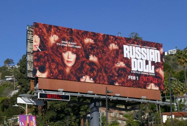 Russian Doll series premiere billboard