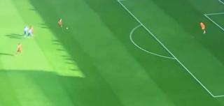 هدف صلاح فى آرسنال يعيد إلى الأذهان هدفه مع فيورنتينا فى مرمى بوفون