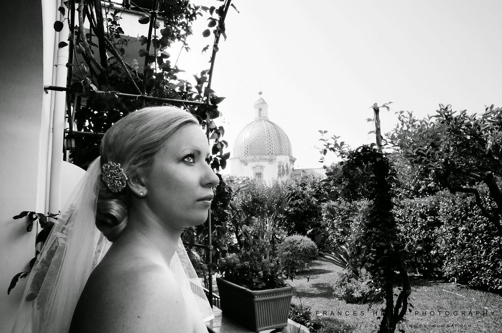 Bride portrait at Palazzo Murat