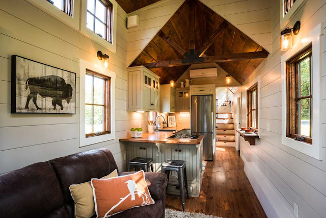 8 Staycation Worthy Tiny Homes For Sale: TINY HOUSE TOWN: Denali By Timbercraft Tiny Homes