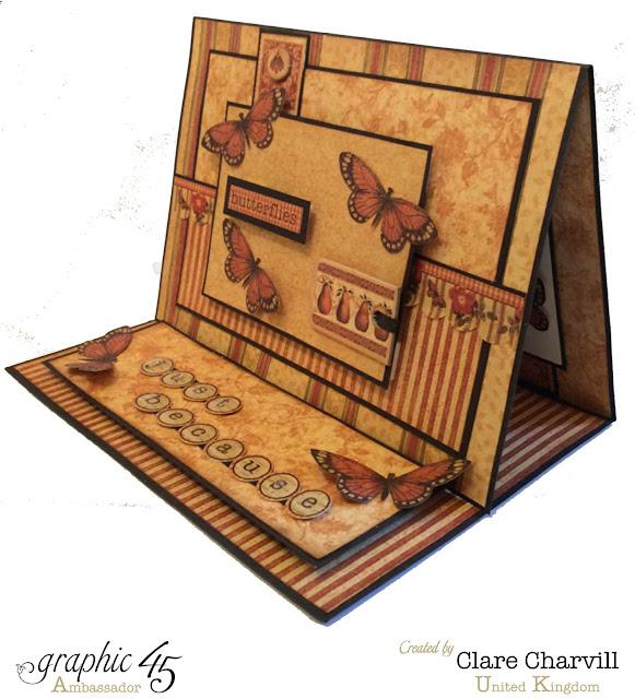 Botanicabella Card Clare Charvill Graphic 45