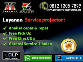 tempat service lcd infocus