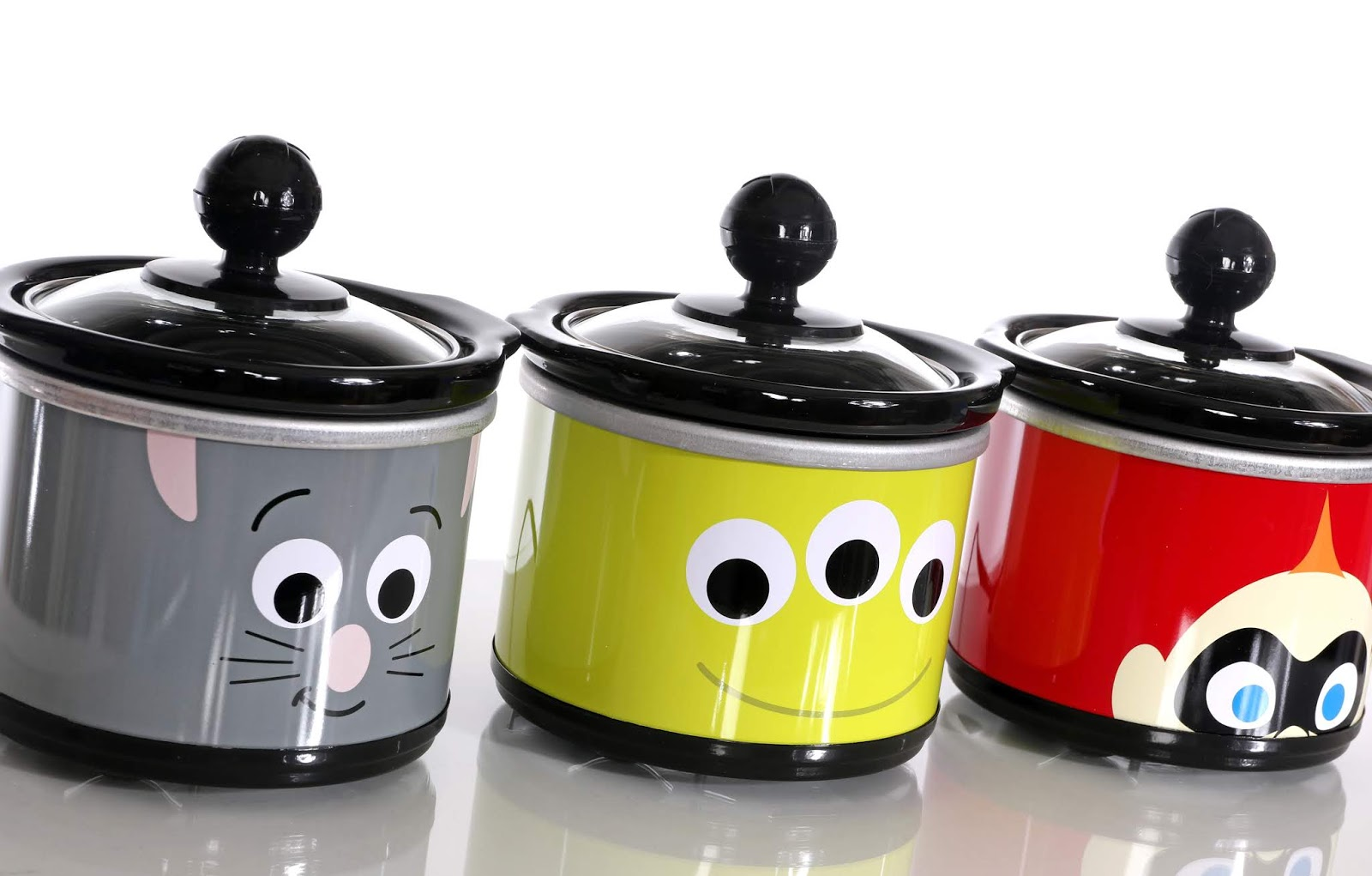 Pixar Collection 20 Ounce dippers Mini Crock Three Pack Review