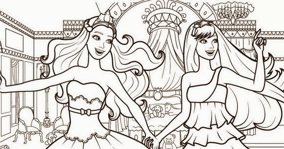 Barbie Diva : Imagens Para Colorir Da Barbie