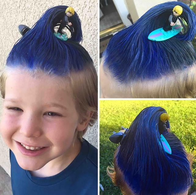 Más de 1000 ideas sobre Peinados Locos Para Niños en Pinterest