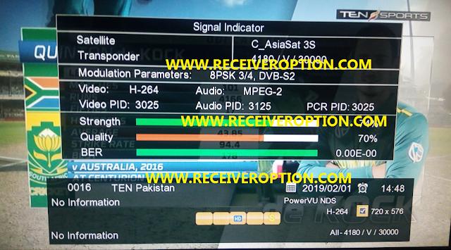 STARCOM SC-6868 HD RECEIVER AUTO ROLL POWERVU KEY NEW SOFTWARE