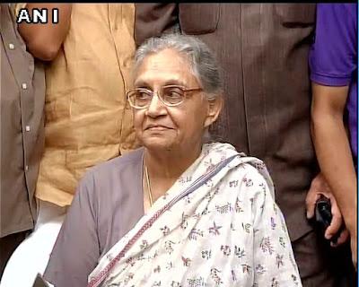Sheila Dikshit UP CM Candidate