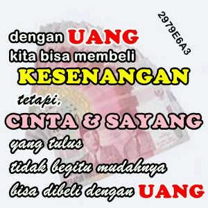 gambar DP BBM Dana Uang membeli kesenangan