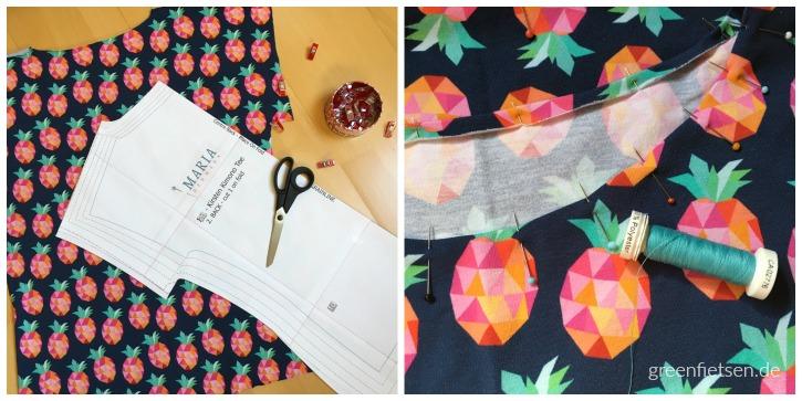 Kimono Tee - Freebook von Maria Denmark