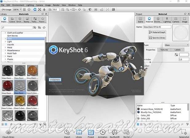 Software Cracker 24: KeyShot 6 Crack Full Version Download