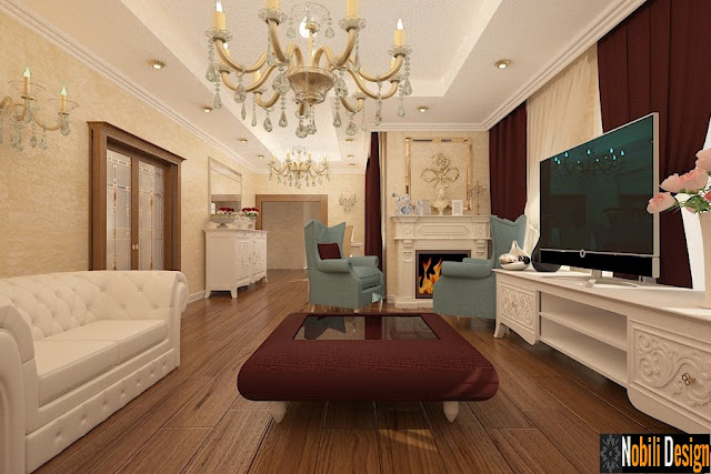 ~Design interior case vile clasice Tulcea | Nobili Interior Design.