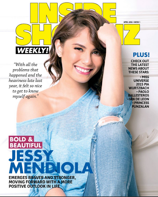 Jessy Mendiola Inside Showbiz April 2016