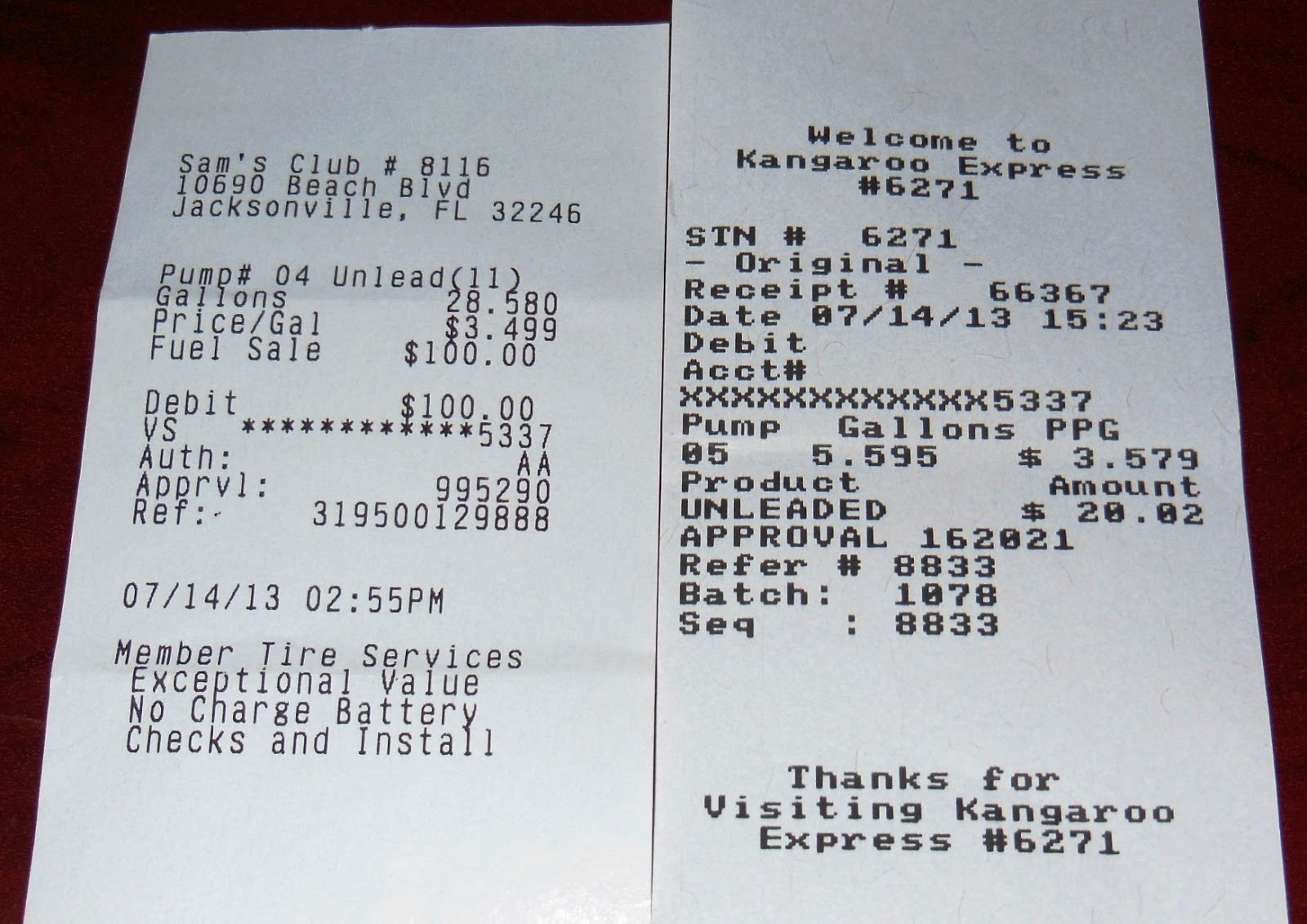 Expressexpense Custom Receipt Maker Amp Online Receipt