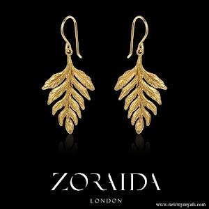 Kate Middleton wore Catherine Zoraida Fern earrings
