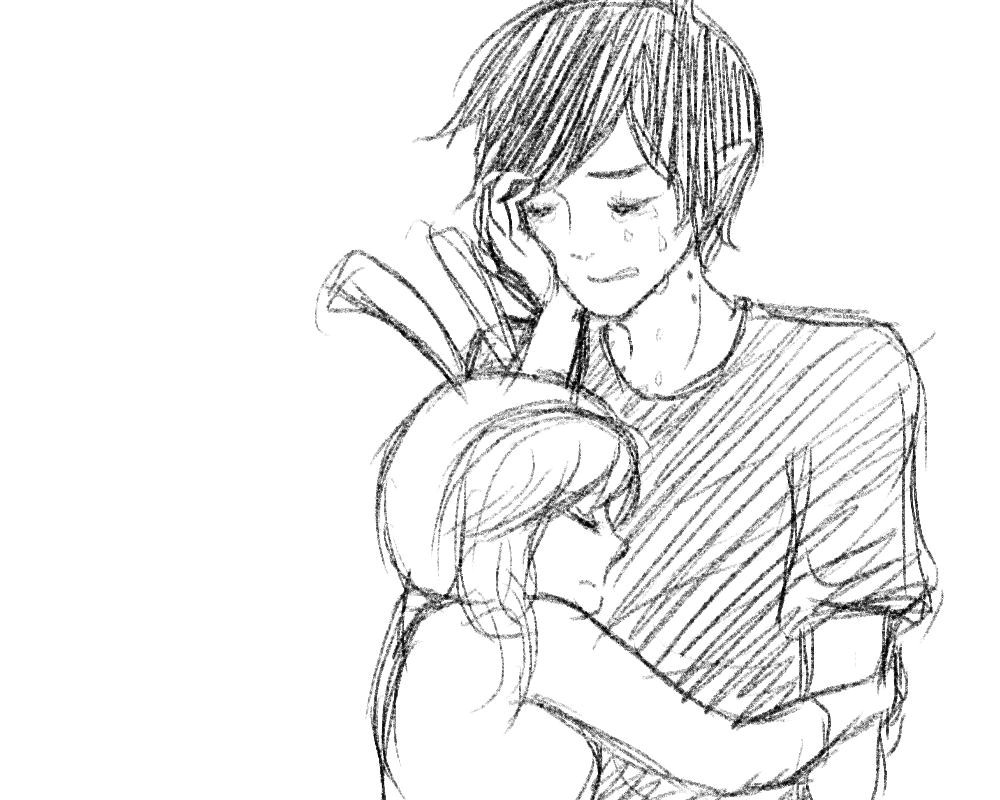 Cute couple sketches to draw easy