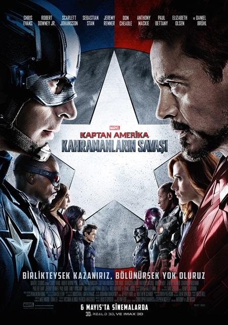 Kaptan Amerika: Kahramanların Savaşı (2016) 1080p Film indir