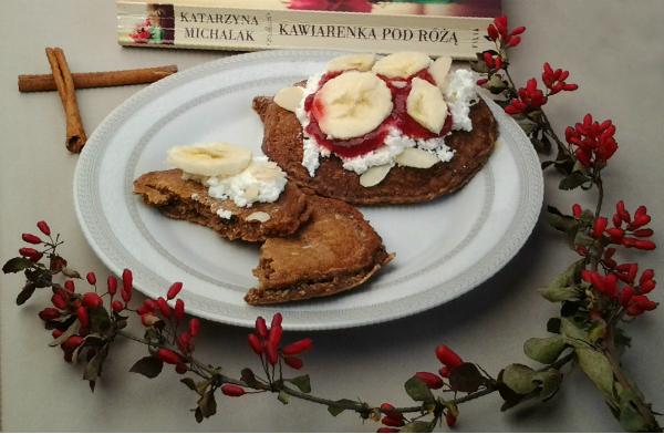 Owsiane pancakes - idealne na drugie śniadanie do pracy