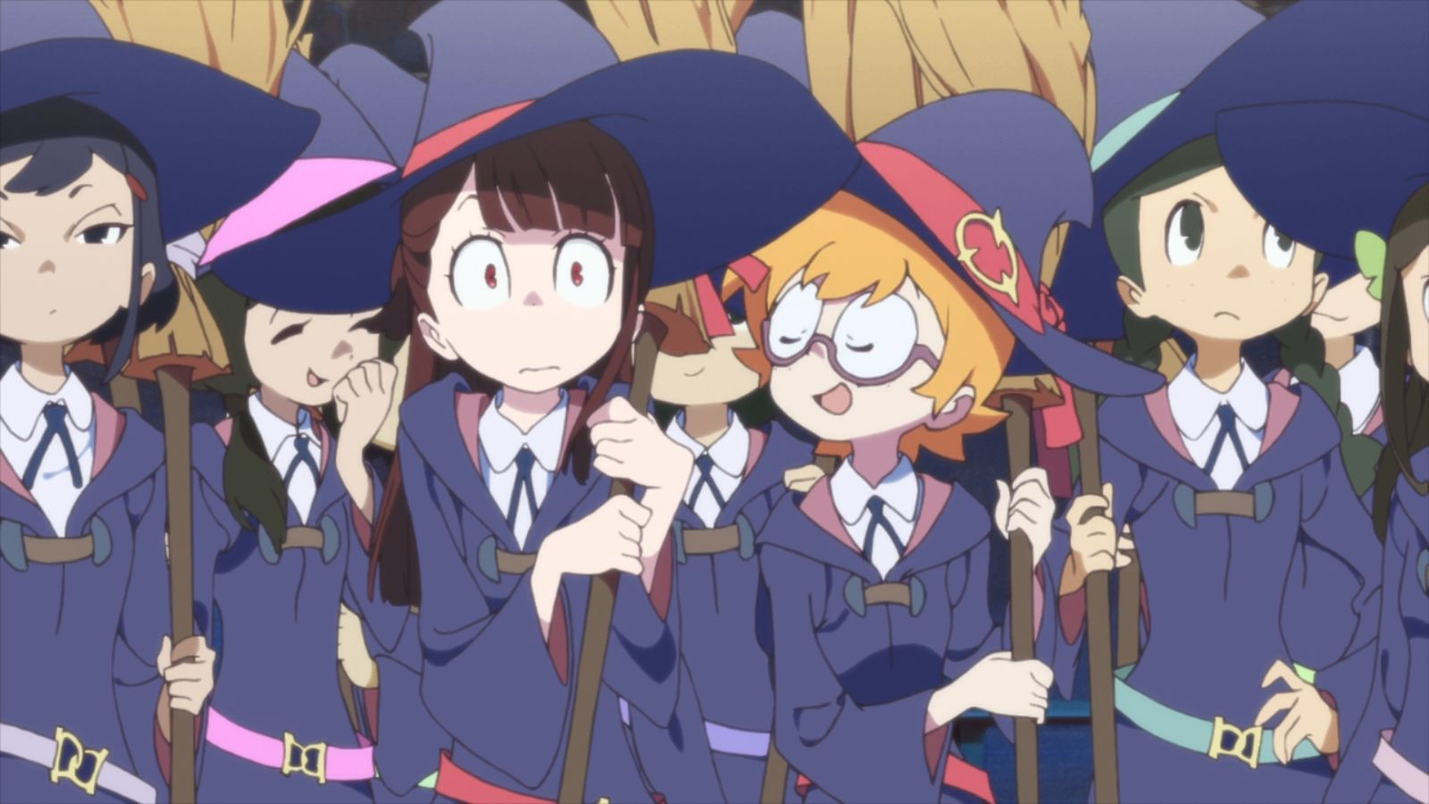 Little Witch Academia episode  1  VOSTFR