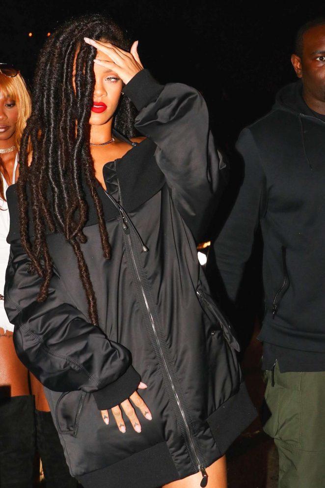 Rihanna, soirée Halloween à New-York, 29 octobre 2016