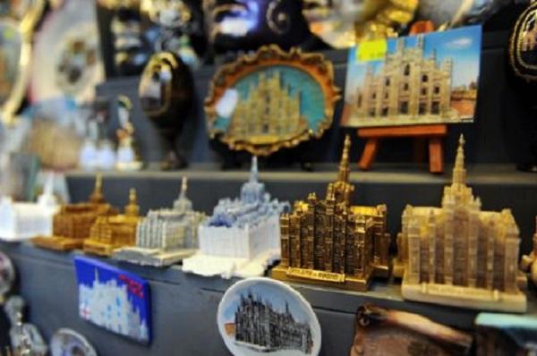 Souvenirs de Milão na Itália