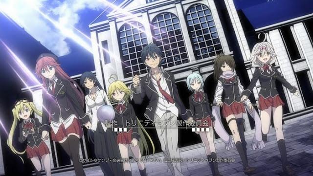 3 eps rule trinity seven 5 30 Rekomendasi Anime Harem Terbaik