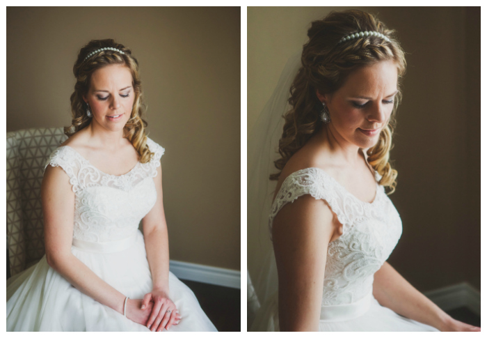 front braid and curls for bridal updo photography: Kate Pennings hair: Taming Rapunzel