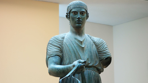 The Delphi Charioteer Delphi Archaeological Museum, Greece