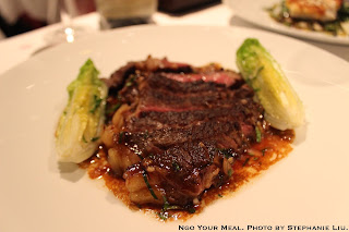 Rib of Beef at Le Violon d'Ingres