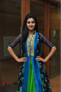 Actress Model Shamili Sounderajan Pos in Desginer Long Dress at Khwaaish Designer Exhibition Curtain Raiser  0048.JPG