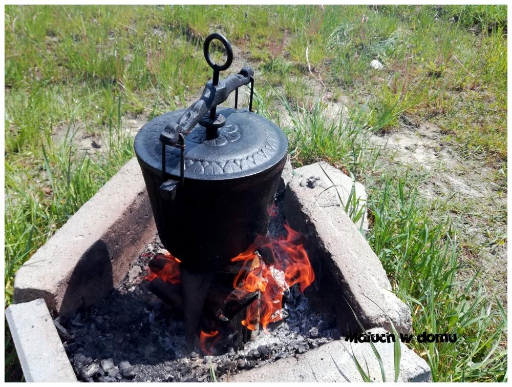Kociołek z ogniska - przepis