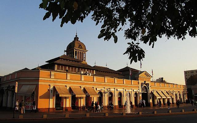 Conhecer o Mercado Central em Santiago no mês de julho