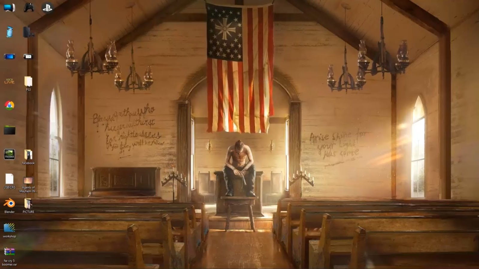 Wallpaper Engine Wallpaper Engine Far Cry 5 Only You 4k Animated Free Dowload